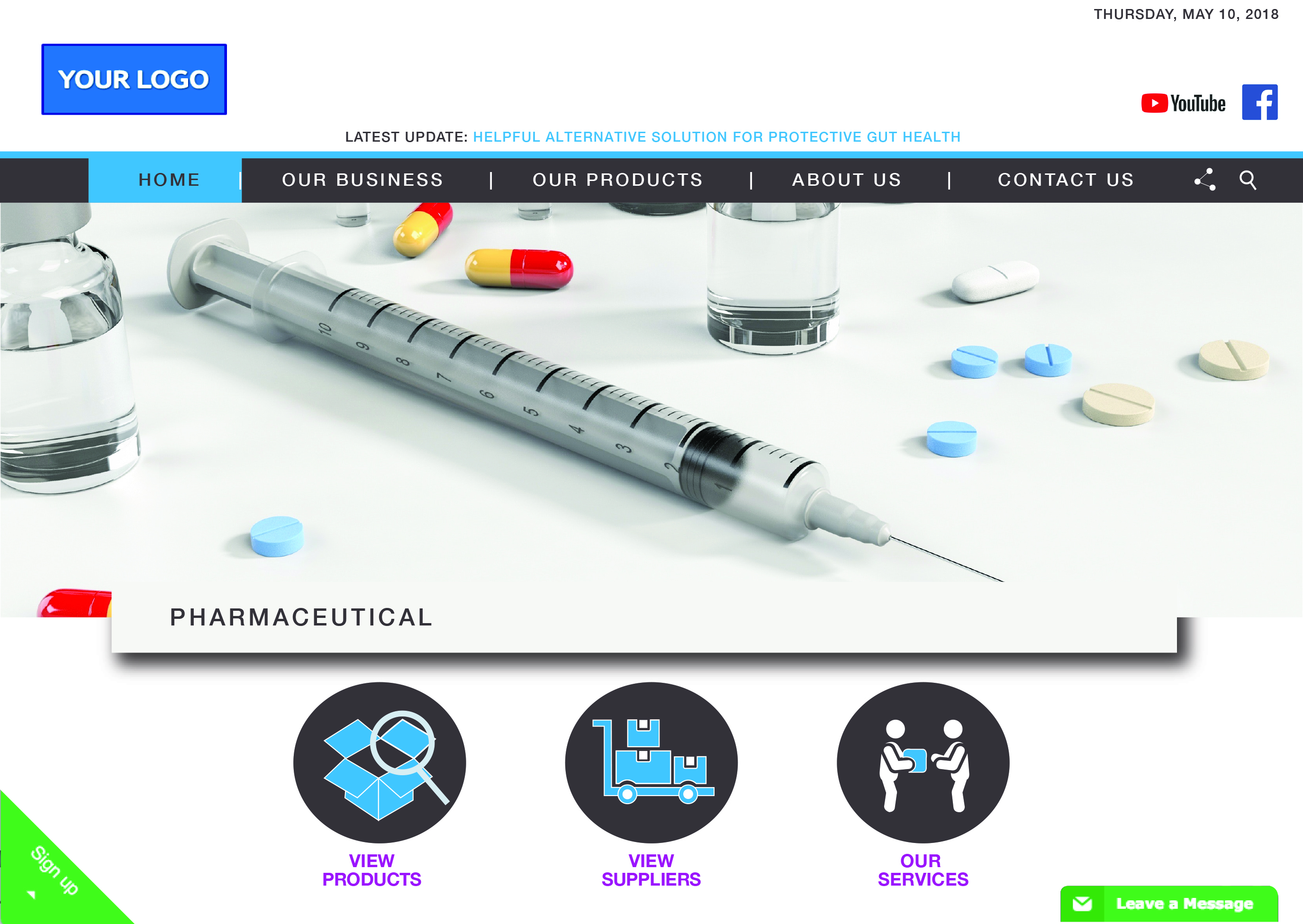 Website Example of WTOPharma